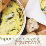 Meatless Monday: Asparagus Gruyere Frittata