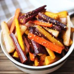 Chipotle Cumin Roasted Carrots