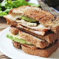 Turkey Avocado Grilled Cheese