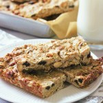 Cashew Butter Honey Granola Bars
