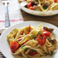 Pasta Primavera with Cherry Tomato Sauce