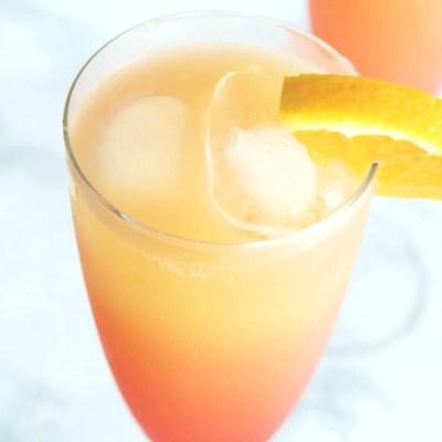 Tequila Sunrise Mimosa
