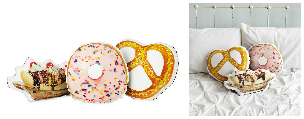 food-pillows