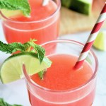 Watermelon Coconut Agua Fresca