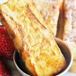 Cinnamon French Toast Sticks {+ Mixers Giveaway}