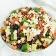 Mediterranean Tuna Quinoa Salad