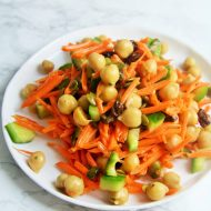 Curried Carrot and Chickpea Salad