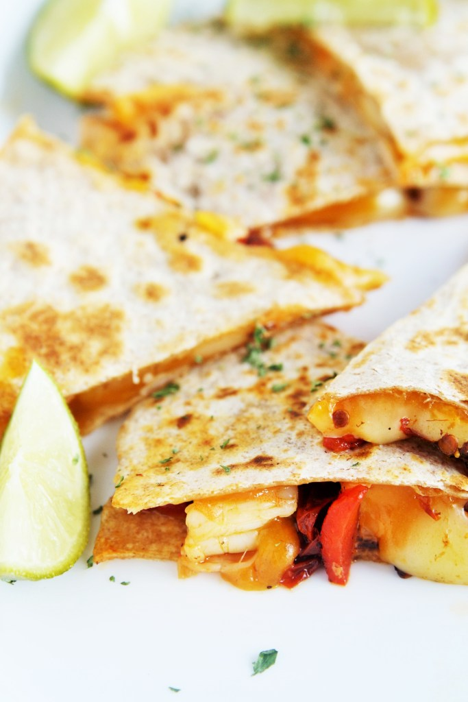 chipotle-shrimp-roasted-pepper-quesadillas-4