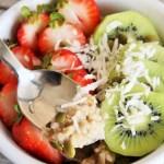 Creamy Coconut Quinoa Oatmeal