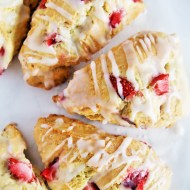 Strawberry and Cream Scones