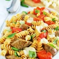 Chicken Sausage Caprese Pasta