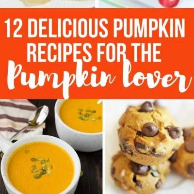 12 Delicious Pumpkin Recipes for the Pumpkin Lover