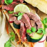 Vietnamese Flank Steak Sandwiches