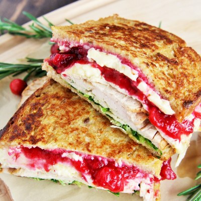 Turkey and Brie Monte Cristo Sandwiches