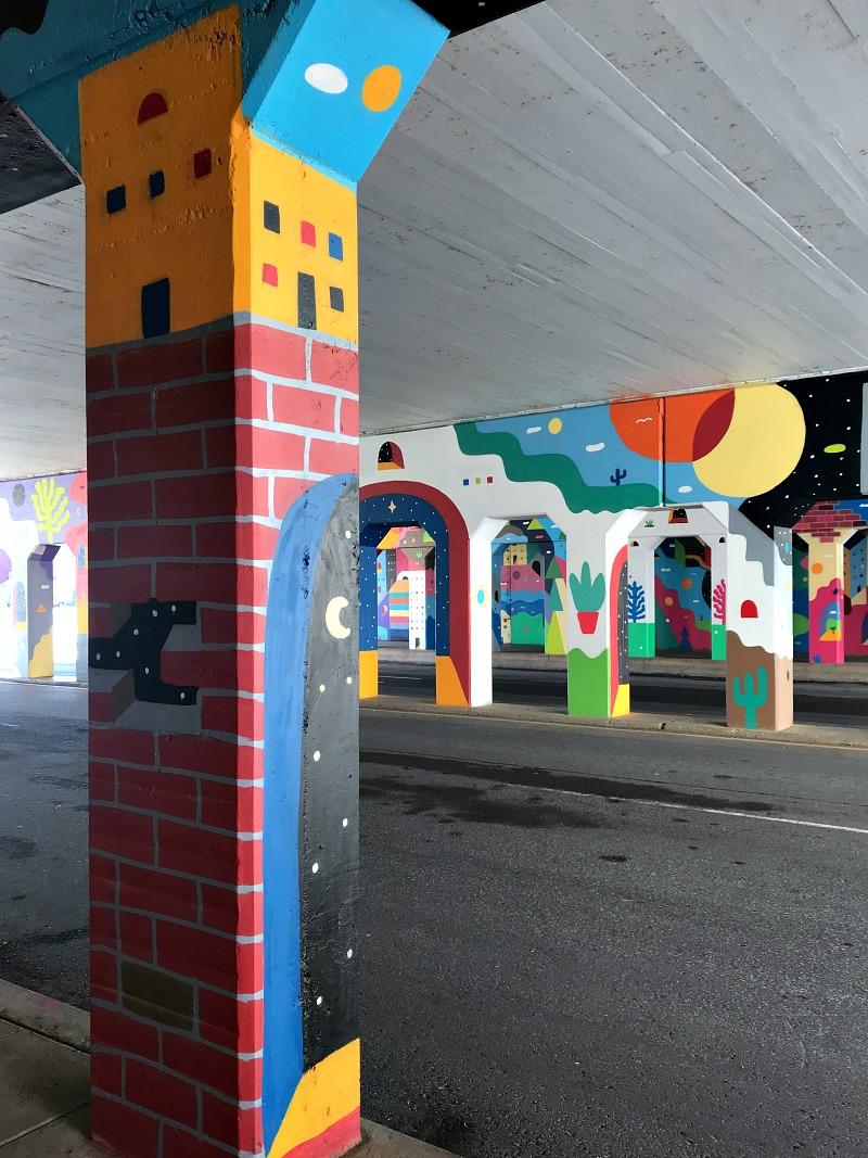 OKC bridge art
