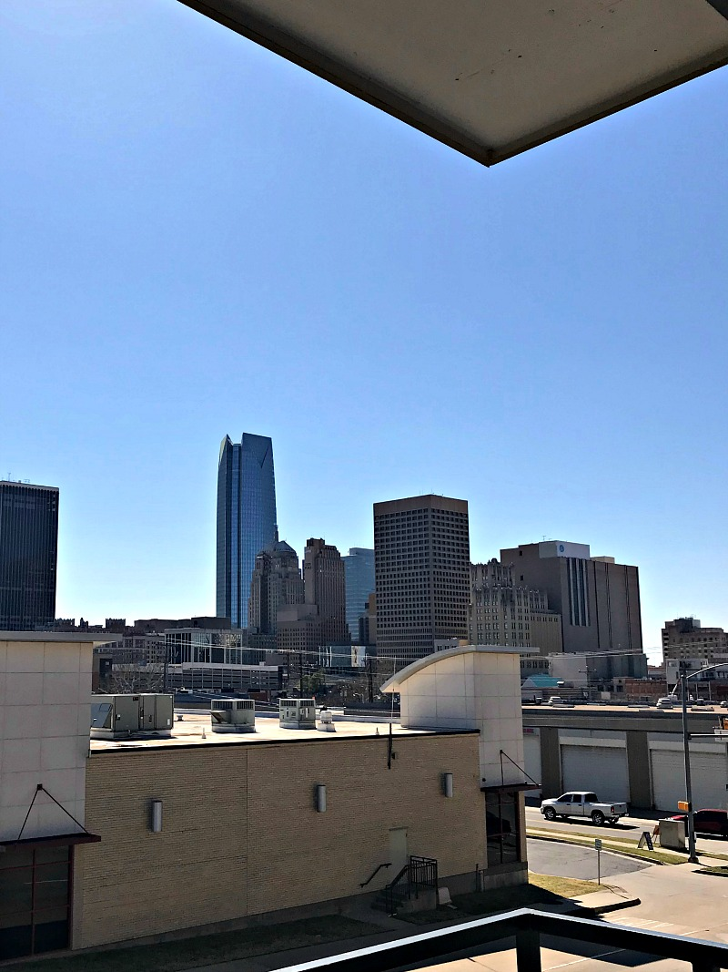 OKC balcony view