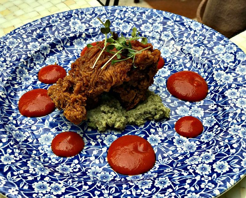 Beatnik fried chicken