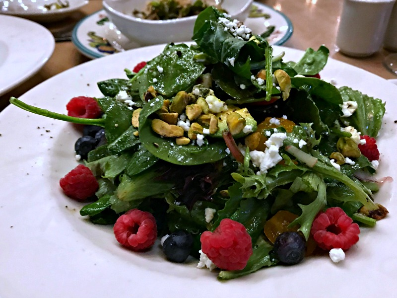 The Vig berry salad