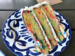 birthday cake at the halls okc