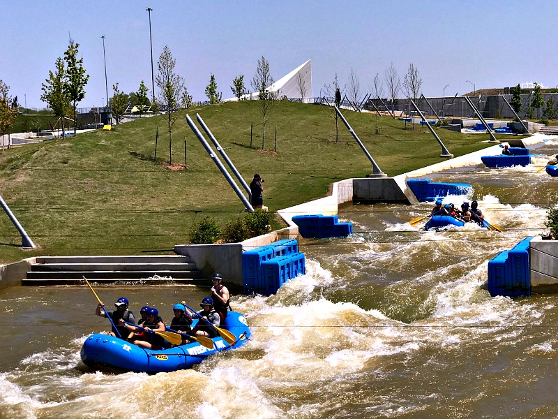 Riversport OKC white water rafting