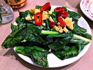 The Pritchard chinese kale