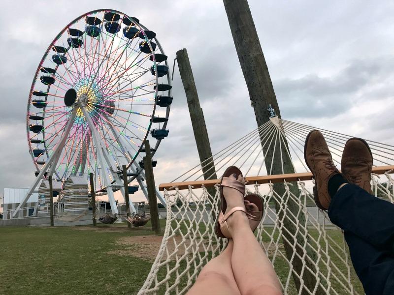 hammock time at Wheeler Park