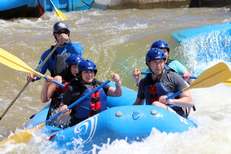 white water rafting OKC