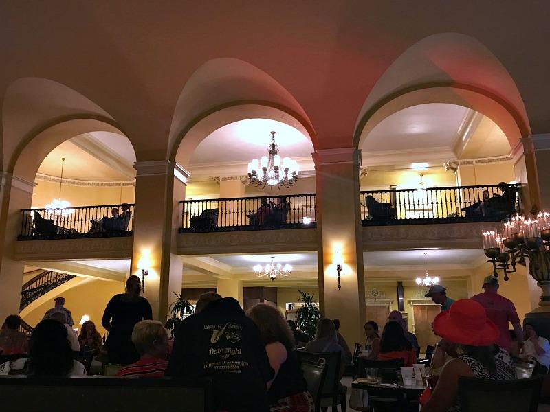 Arlington Hotel lobby