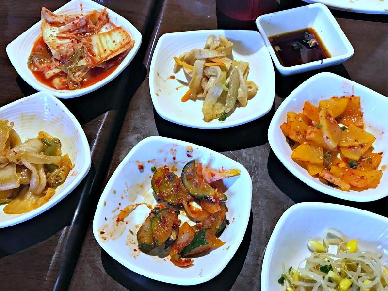 Taste of Korea banchan