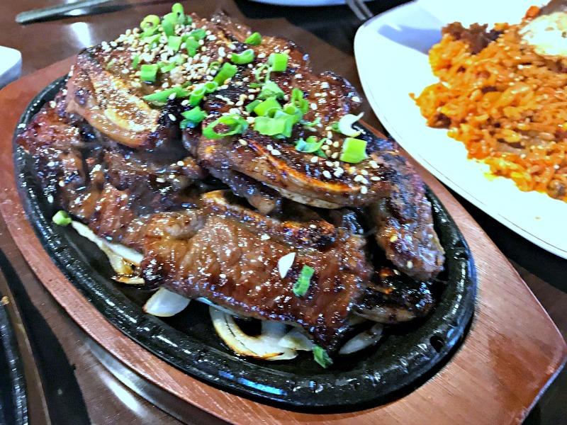 Taste of Korea galbi ribs