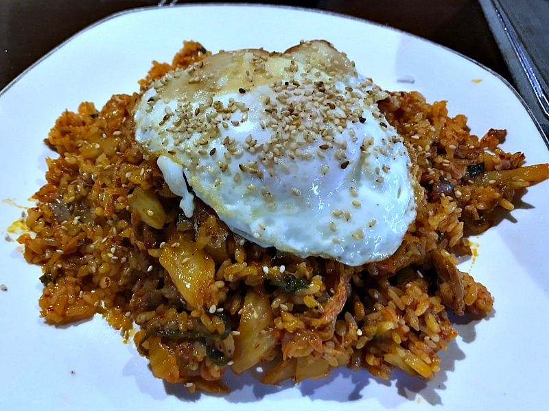 kimchi fried rice special