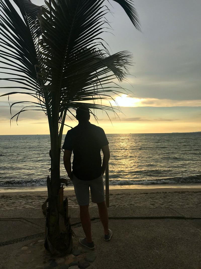Tom at sunset