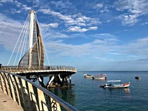 the new pier Puerto Vallarta