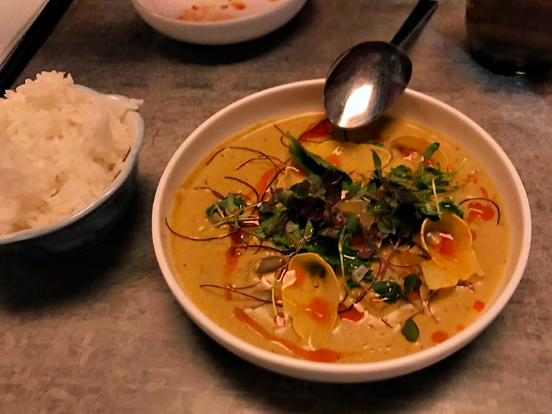 Spoken English DC fermented curry