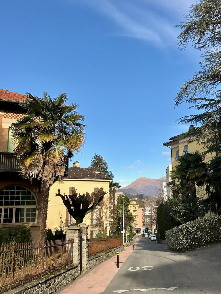Lugano, Switzerland is a walkable city with views everywhere you turn