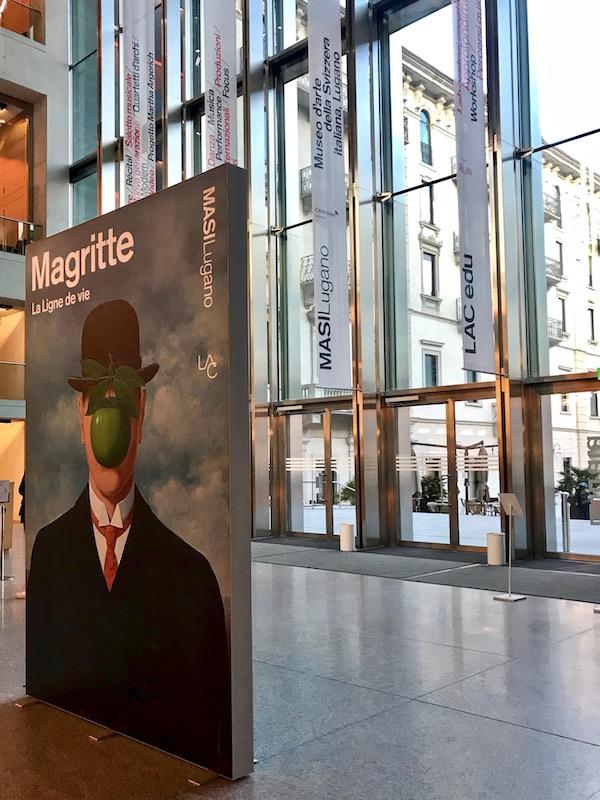Magritte La vigne de vie exhibit at MASI Lugano