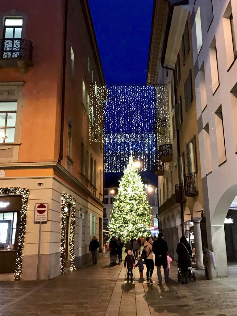 Lugano during the Holidays