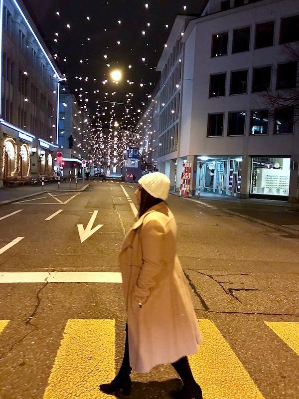 first night in Zurich