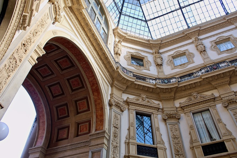 Galería Vittorio Emanuele II, Milan