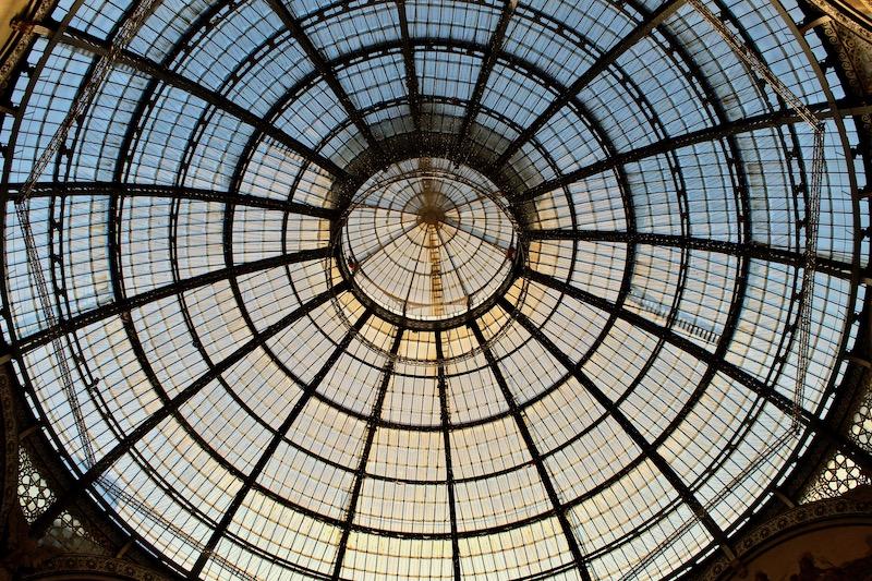Galería Vittorio Emanuele II ceiling
