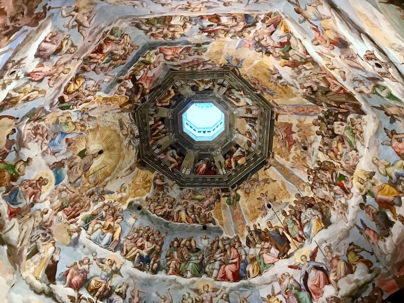 Florence Duomo frescoes