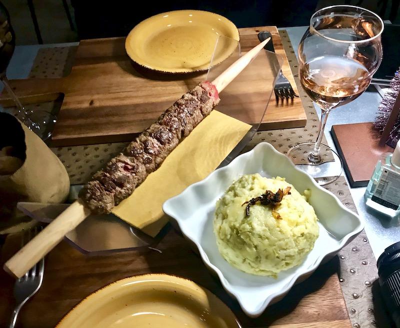 dinner at Sciatt à Porter Milan