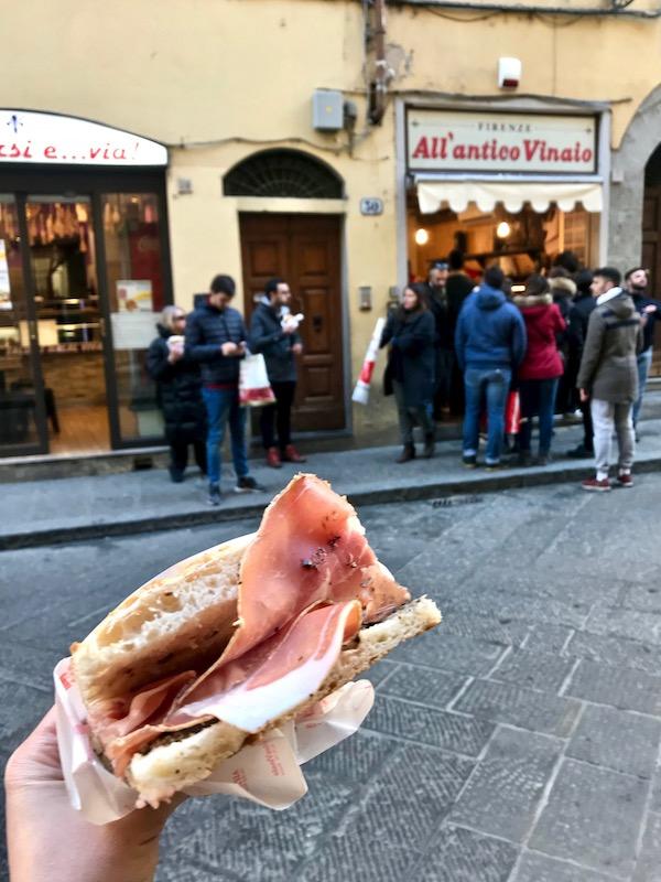 La Boss sandwich All'antico Vinaio