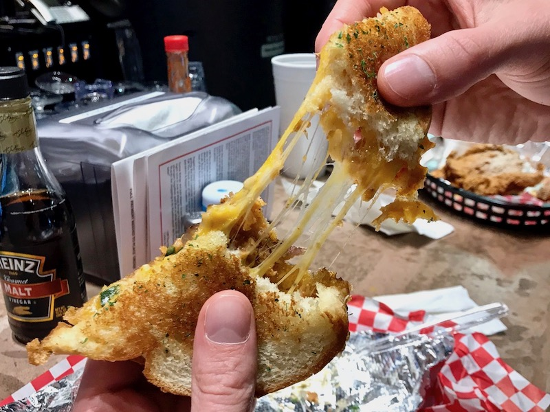 Off the Hook OKC melted lobster sandwich