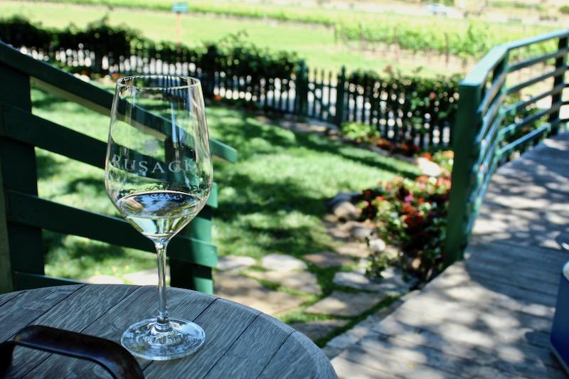 Rusack Vineyards deck