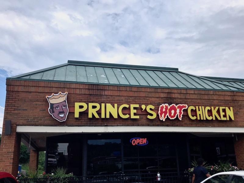 Prince's Hot Chicken Nashville Restaurants