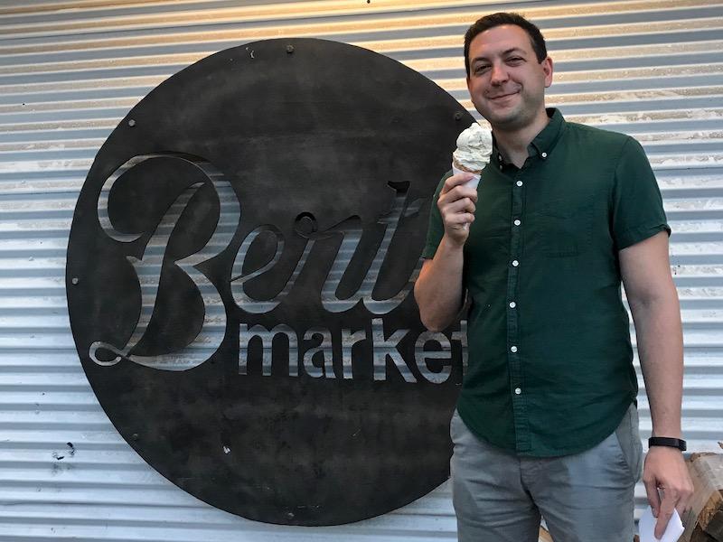Bert's Market Folly Beach ice cream