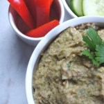 Roasted Eggplant & White Bean Hummus