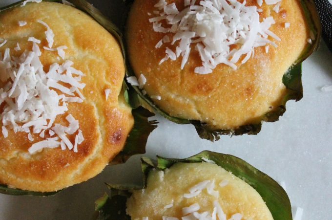 Bibingka – Filipino Coconut Rice Cakes