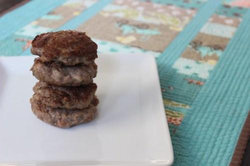 Maple Breakfast Sausage {Gluten-Free & Soy-Free}